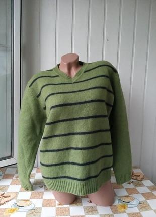 Новый свитер 100% шерсть