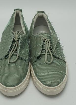 Женские туфли на шнурках кроссовки, кожа, италия, maruti