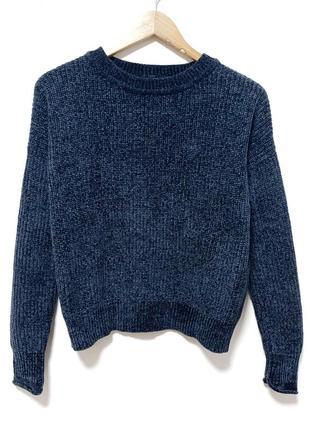 Велюровый мягусенький свитер atm