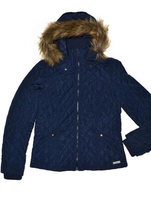 Куртка стеганная демисезонная с капюшоном groggy by jbc