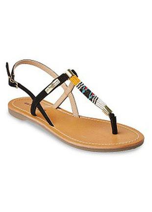 Кожаные сандалии  les tropeziennes