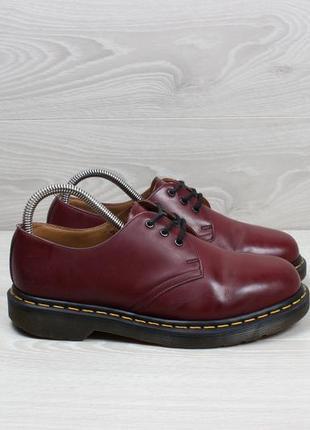 Кожаные туфли dr.martens 1461 cherry оригинал, размер 38.5 - 39