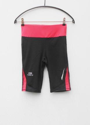 Спортивные леггинсы женская спортивная одежда oxylane