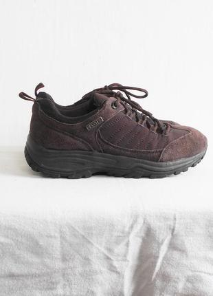 Замшевые городские трекинговые кроссовки walkx® outdoor trekking