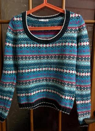 Пуловер из мягкой шерсти promod