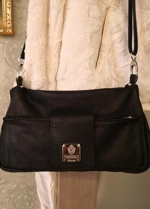 Шикарная кожаная сумка imedici firenze