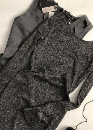 Изысканное платье с воланами на рукавах primark