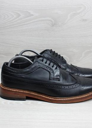 Кожаные мужские туфли броги kensington classics, размер 44 - 44.5