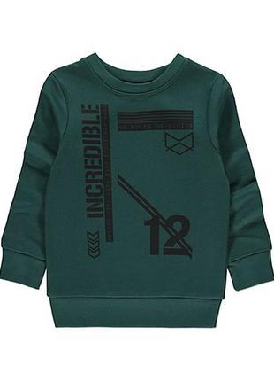 Кофта, свитер, теплый реглан, бомпер джорж, george, картерс, светр