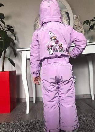 Нереальный горнолыжный детский комбинезон 2года/92 poivre blanc purple , франция, оригинал3