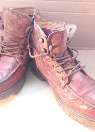 Фірмофі шкіряні ботинки