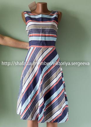 Большой выбор платьев - новое льняное платье миди