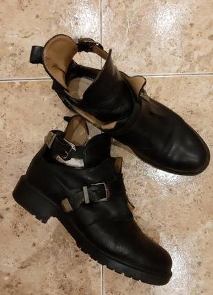 Ботинки кожа челси сапоги zara раз.39-25см