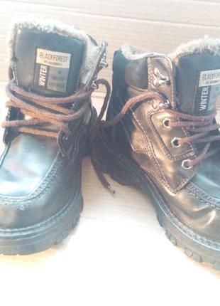 Підліткові зимові ботинки