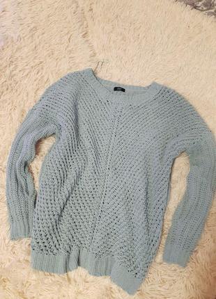 Вязаный свитер , мягенький свитер, свитер