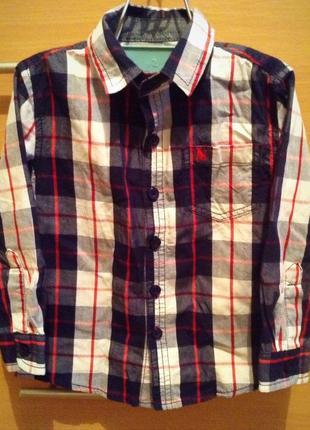 Рубашка rebel, 92р
