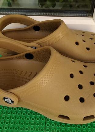 Кроксы сабо crocs р. 4-6  внутри 23.5 см