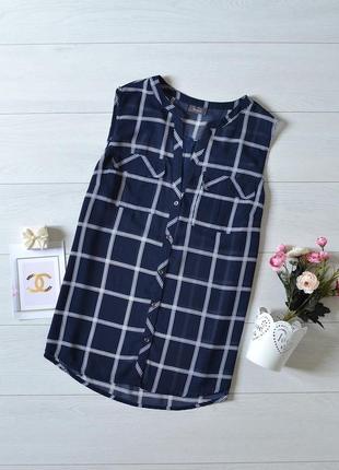 Шифонова блуза в клітинку yessica.