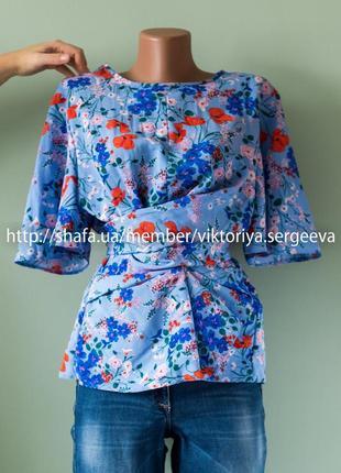 Большой выбор блуз - безумно красивая блуза с завязками1 фото
