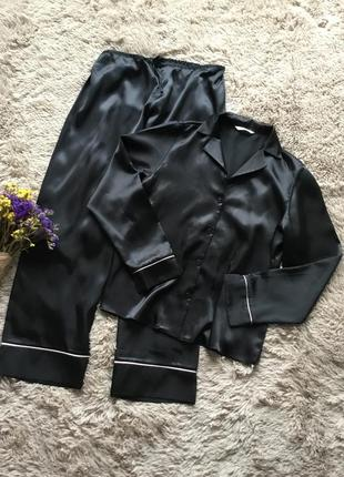 Шикарная шелковая пижама
