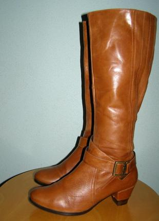 Кожаные сапоги spm 39 р.еврозима
