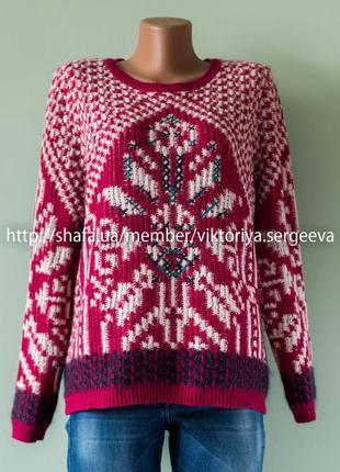 Большой выбор свитеров - теплый красивый свитер в составе шерсть