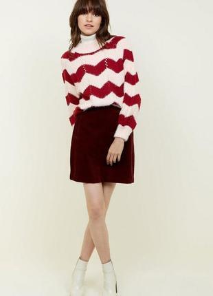 Супер новая теплая юбка new look