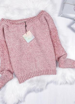 Найніжніший плюшевий светрик \ пудровый плюшевый велюровый свитер missguided