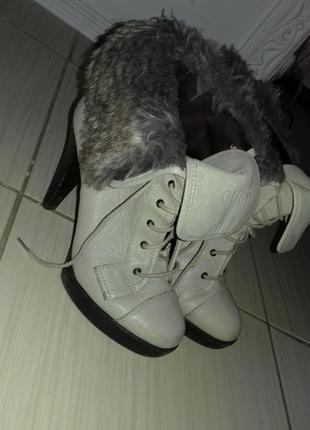 Ботиночки натур кожа