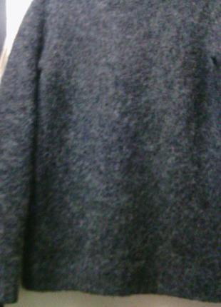 "Теплющий свитер"" mtwtfss weekday"" серого цвета.  шерсть/лама 38-42"