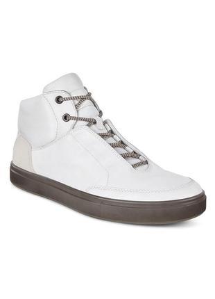 Кожаные ботинки ecco kyle street boot fashion sneaker, 41 размер 27 см
