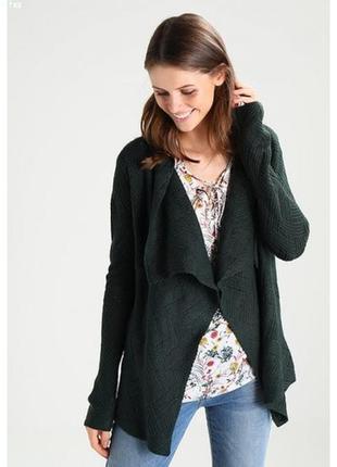 Кардиган свитер кофта зеленый зеленая хаки anna field оригинал теплый зимний зима