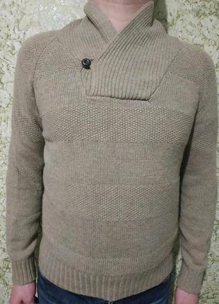 Стильный #свитер, #пуловер, #реглан из шерсти h&m