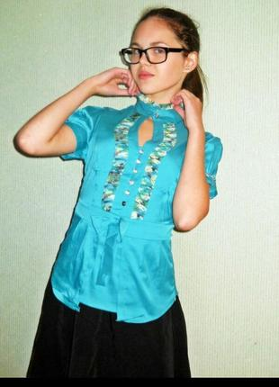 """Шикарная блуза """"элиза"""" размер 46-48"""