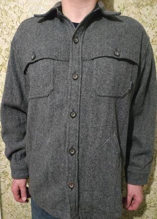 Красивое #пальто, #полупальто woolrich из чистой шерсти