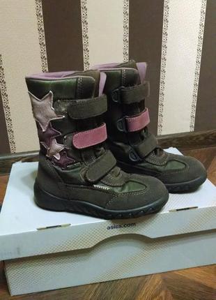Красивые зимние сапоги ботинки richter