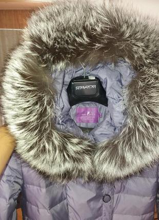 Зимовий пуховий плащ/ зимнее пуховое пальто ( пуховик) snow beauty