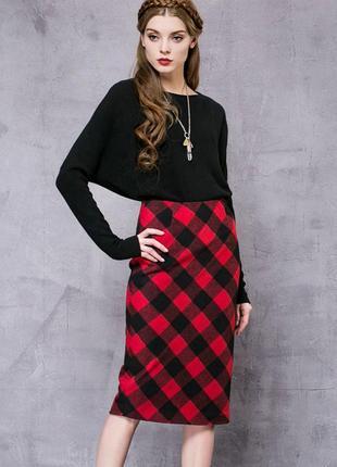 Стильная юбка шотландка