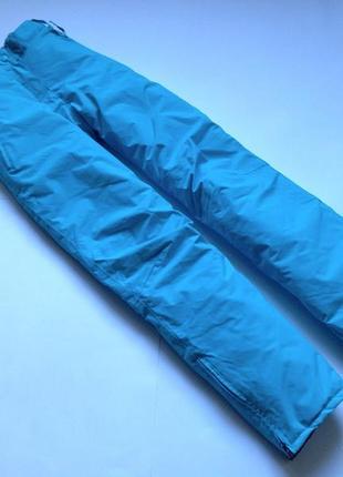 Голубые лыжные штаны crane