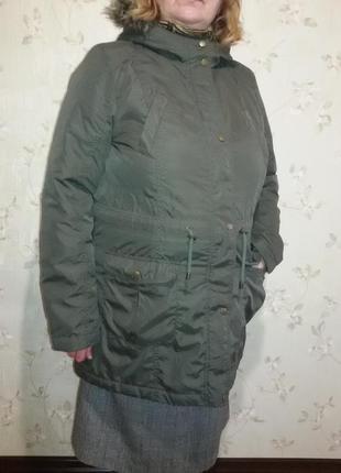 Куртка-парка на синтепоне пог-61 см