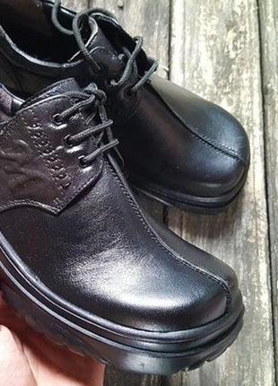 Брендові туфлі мешти дитячі kailima 36 37 38 [італія] (детские кожаные)