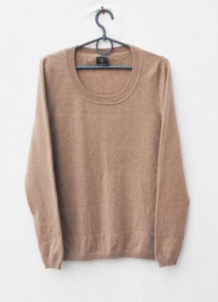 Oсенний зимний 100% кашемировый  свитер с длинным рукавом