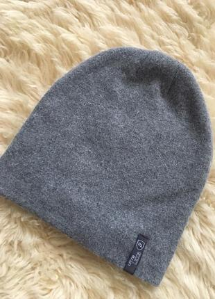 Тёплая шапочка на флисе