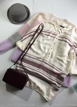 Сорочка оверсайз в етно стилі zara