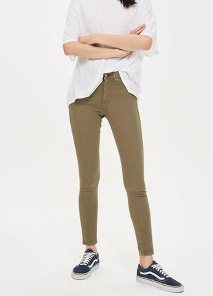 Актуальные узкие джинсы скинни topshop, размер 44-46