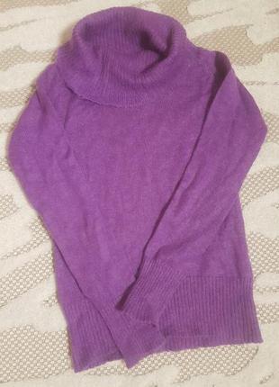 Теплый свитер, мохер,с,м