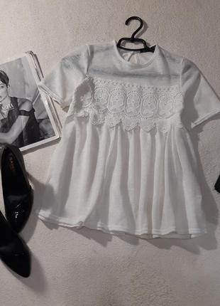 Стильная блуза.размер xs