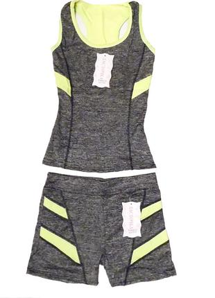 Спортивний костюм / спортивный костюм (майка и шорты)