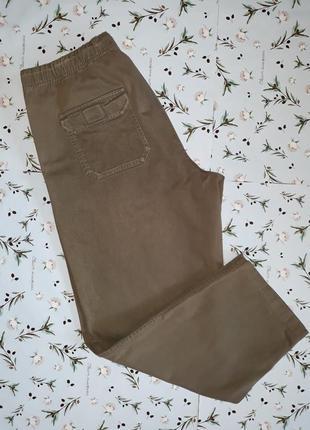 Модные кэжуал джинсы, заужены к низу, большой размер, 54-56, большой размер