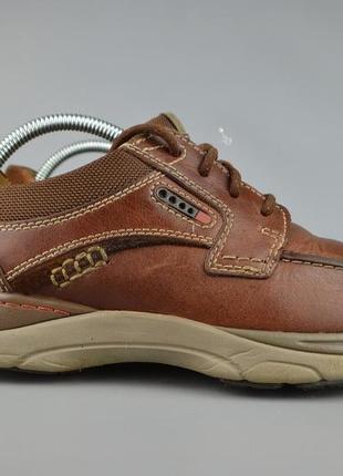 Мужские туфли кроссовки clarks, р 42